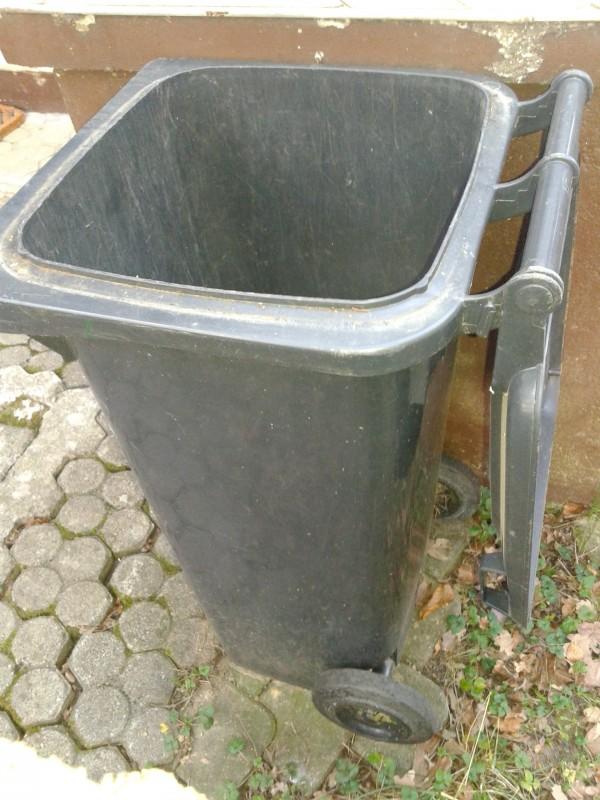 Hišni zabojnik za smeti (polno odpiranje pokrova)