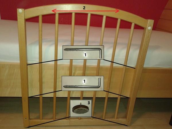 Ograjica za posteljo